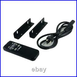 Pyle 2000 Watt Karaoke Mixer Audio Amplifier RCA Bluetooth Remote (Open Box)