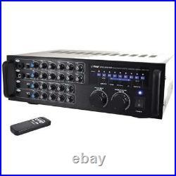 Pyle PMXAKB1000 1000 Watt Bluetooth Karaoke Rack Mountable Amp