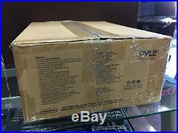Pyle PMXAKB2000 2000 Watt Karaoke Mixer Audio Amplifier RCA Bluetooth