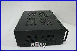 Pyle PMXAKB2000 2000 Watts 1000W + 1000W at 4 Ohms DJ Karaoke Mixer Black