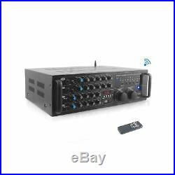 Pyle PMXAKB2000 2000 Watts (1000W + 1000W at 4 Ohms) DJ Karaoke Mixer and A