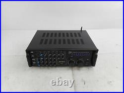 Pyle PMXAKB2000 Dual Channel Bluetooth Mixing Amplifier with RCA, USB, AUX