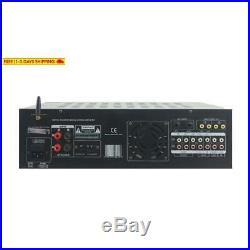 Pyle Pmxakb2000 2000 Watts (1000W + 1000W At 4 Ohms) Dj Karaoke Mixer And Ampl