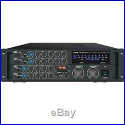 Pyle Pro 2,000-watt Bluetooth Karaoke Amp