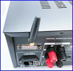 Pyle Pro PMXAKB-2000 Bluetooth Karaoke Mixing Amplifier