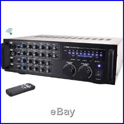 Pyle Pro PMXAKB1000 Bluetooth Karaoke Mixer / Amplifier 1000W