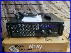 Pyle Pro PMXAKB1000 Wireless Karaoke Mixer 1000-watts