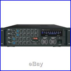 Pyle Pro PMXAKB2000 2,000-Watt Bluetooth Stereo Mixer Karaoke Amp