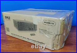 Pyle Pro PMXAKB2000 2000 watt Wireless BT Karaoke Amplifier Black - (B30)