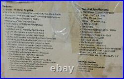 Pyle Pro PMXAKB2000 2000 watt Wireless BT Karaoke Amplifier FOR PARTS! -G4