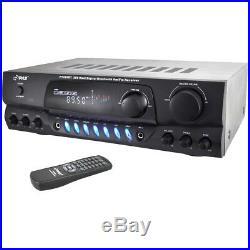 Pyle Pt265bt Am/fm Receiver 200 W Rms 2 Channel 40 Hz To 15 Khz Am, Fm
