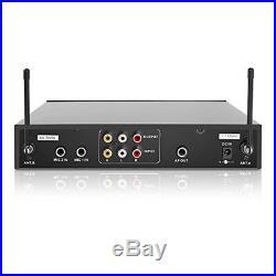 Pyle Wireless Karaoke Microphone & Portable Digital Audio Sound Mixer