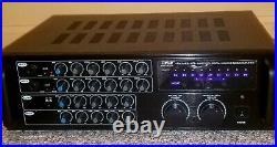 Pyle pmxakb1000 Bluetooth Stereo Karaoke Mixer/Amplifier (1000W)