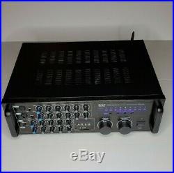 PylePro PMXAKB2000 Bluetooth Karaoke Mixer Open Box Comes in Original Packaging