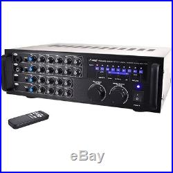 Pylepro Pmxakb1000 Amplifier 1000 W Rms 2 Channel 0.5% Thd 20 Hz To 20
