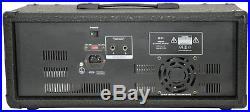 QTX PH2800 200W Powered 8 Channel Mixer Amp + FX + USB SD Mp3 Player + IR Remote