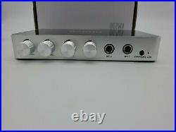 RAKOIT HDMI Karaoke Mixer Amplifier with 2 Mics Connector New In Box Free shippi