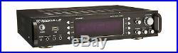 Rockville 1000w 2-Ch USB Bluetooth DJ Karaoke Amplifier Expandable Huge Power