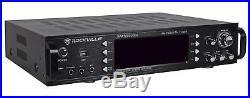 Rockville 1000w 4 Chan Pro/Karaoke Amplifier/Mixer 2 wireless mics included