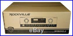 Rockville Bluetooth Karaoke Amplifier Mixer For Audio2000's ASP5210A Speakers