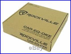 Rockville Eq+Microphone Turns Car Audio Speakers Into Tailgate Tailgating System