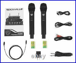Rockville Home Karaoke Quarantine Activity Family Singing Party Microphones