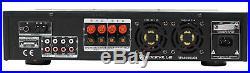 Rockville RPA6000USB 19 1000w 2 Chan DJ/Pro/Karaoke Amplifier/Mixer Amp with USB