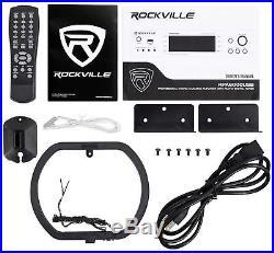 Rockville RPA6000USB 19 1000w 4 Chan DJ/Pro/Karaoke Amplifier/Mixer Amp with USB