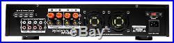Rockville RPA60BT 19 1000w 2-Ch USB Bluetooth DJ/Pro/Karaoke Amplifier Mixer