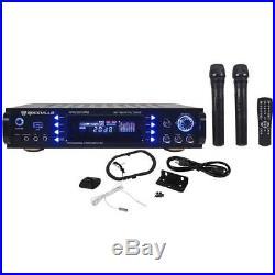 Rockville RPA7000UWM 1000-Watt 4-Channel Pro/Karaoke Amplifier/Mixer with 2