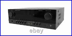 Rockville SINGMIX 5 2000w Bluetooth DJ/Pro/Karaoke/Home Amplifier Mixer Recei