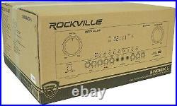 Rockville SINGMIX 5 2000w Bluetooth DJ/Pro/Karaoke/Home Amplifier Mixer Receiver