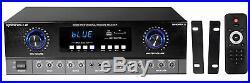 Rockville SingMix 2 Rack Mount 2000w Karaoke Amplifier/Mic Mixer+Bluetooth/Echo