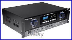 Rockville SingMix 3 Bluetooth Karaoke Amplifier Mixer For Vocopro VX-12 Speakers