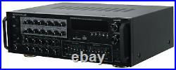 Rockville SingMix 45 1000w Powered Microphone Mixer Amplifier Bluetooth/USB/Echo
