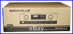 Rockville SingMix Bluetooth Karaoke Amplifier Mixer For BMB CSD-2000 Speakers