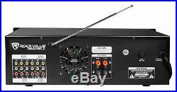 Rockville SingMix Bluetooth Karaoke Amplifier Mixer For Vocopro SV-500 Speakers