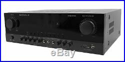Rockville SingMix Bluetooth Karaoke Amplifier Mixer For Vocopro SV-502 Speakers