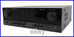 Rockville SingMix Bluetooth Karaoke Amplifier Mixer For Vocopro VX-30 II Speaker