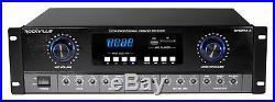 Rockville SingMix Bluetooth Karaoke Amplifier Mixer For Vocopro VX-8 Speakers