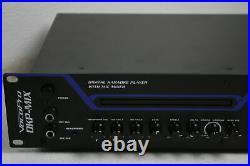 SEE NOTES VocoPro DKP-MIX Rack Mount Digital Karaoke Player w Mic Mixer Black