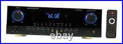 SINGMIX 5 2000w Bluetooth DJ/Pro/Karaoke/Home Amplifier Mixer Receiver