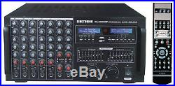 Singtronic KA-4000DSP Professional 4000W HDMI Amp Karaoke with Bluetooth & Record