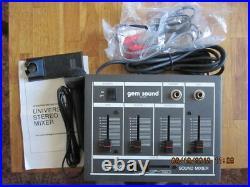 Sound Mixer Mikrofoneingang mit Kabel+Philips Mikrofon