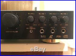 Spacetech A/V Karoke Mic Mixer Amplifier K-19 Pro RARE