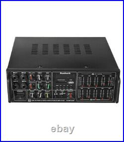Sunbuck Professional Stereo Digital Echo Karaoke Mixer Power Amplifier NEW