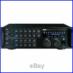 Systems EMB Pro 700-watt Digital Karaoke Mixer Stereo Amplifier EBK37 Musical