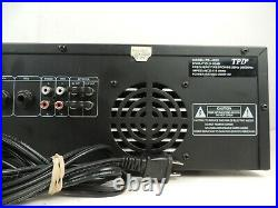 TPD Pro Digital Stereo Echo Mixing Amplifier PD-4020