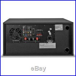Technical Pro Receiver Amplifier DVD Player Bluetooth USB FM SD Mic Input DV4000