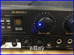 Tested Working Boston Audio BA-4800PRO-II Professional Karaoke Mixer